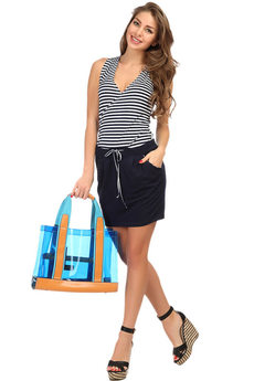 Трикотажная юбка на лето Mondigo