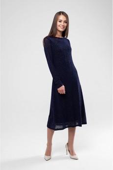 Платье из сетки с бархатом Marimay